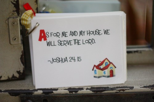 ABC Scripture Cards at I Can Teach My Child