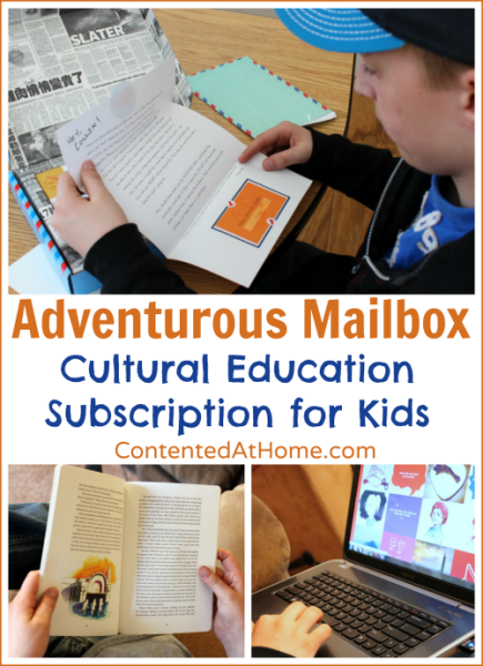 Adventurous Mailbox: Cultural Education Subscription {Homeschool Review}