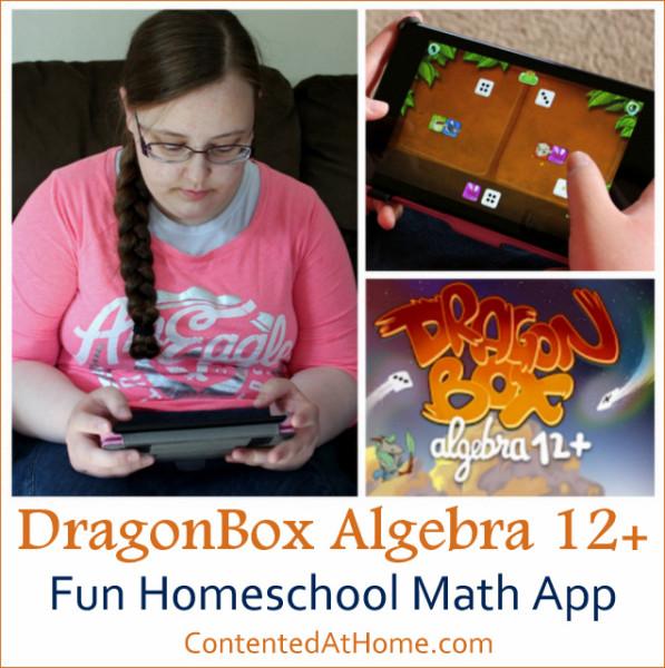 DragonBox Algebra 12+: Fun Homeschool Math App {Homeschool Product Review}