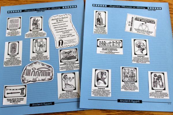 Project Passport: Ancient Egypt timeline