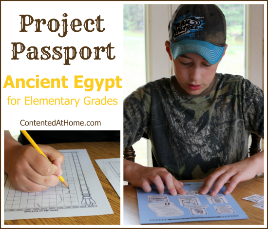 Project Passport: Ancient Egypt {Homeschool Product Review}