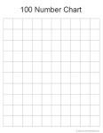 Free Math Printable: Blank 100 Number Chart