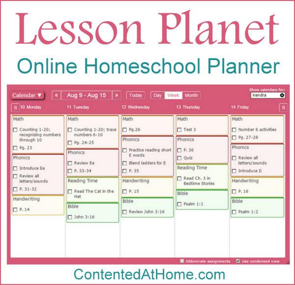 Lesson Planet: Online Homeschool Planner
