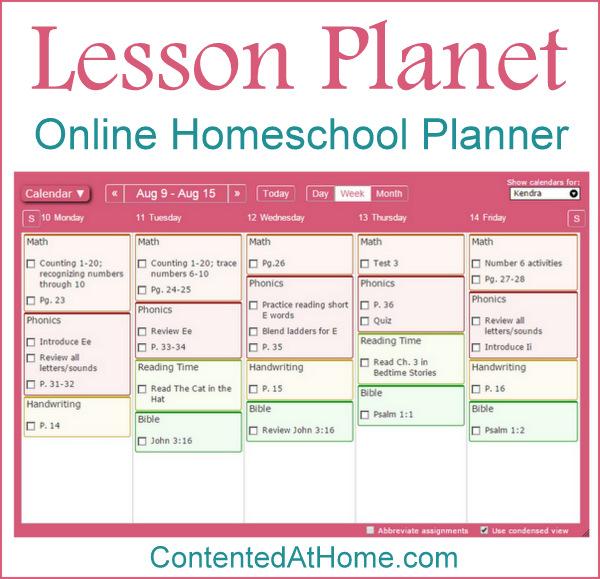 Homeschool Planet: Online Homeschool Planner