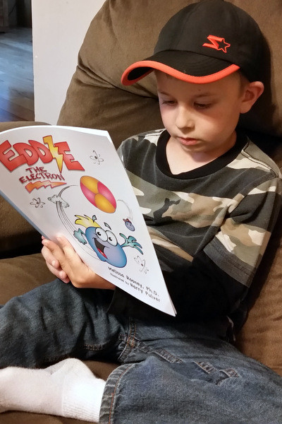 Eddie the Electron - a fun and engaging science book for kids!