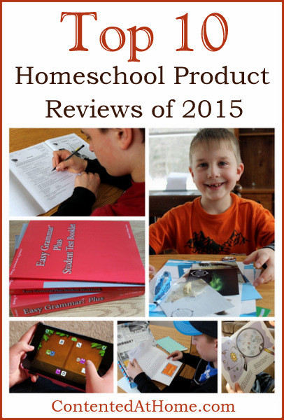 Top 10 Homeschool Product Reviews 2015