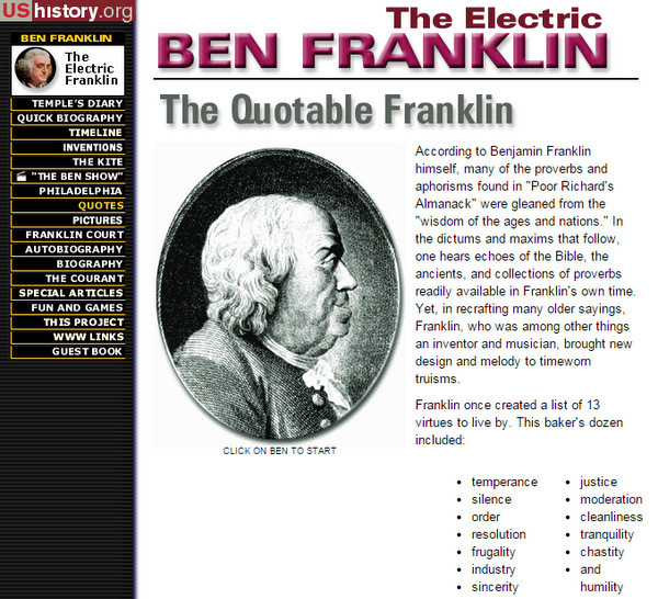 Free online American history resource for high school