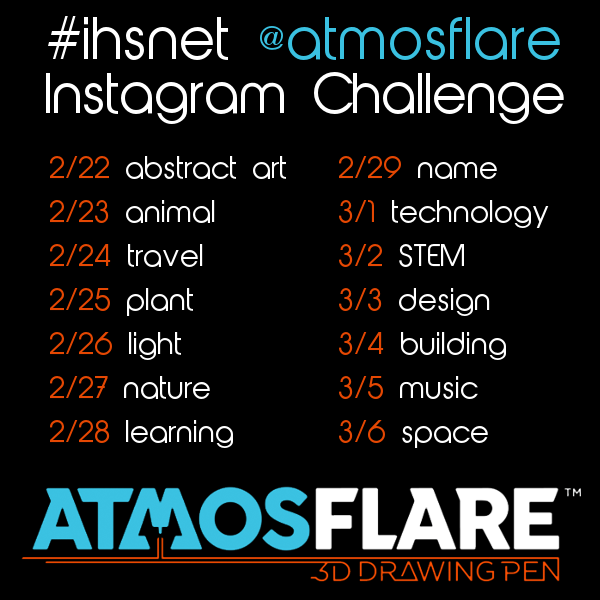 Join the #ihsnet AtmosFlare Instagram challenge!
