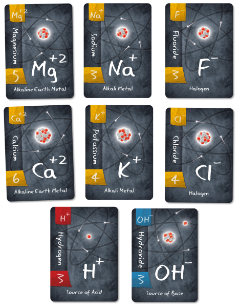 Ion: a science card game for kids