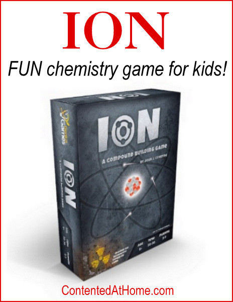 Learning basic chemistry concepts is painless and FUN with Ion, a compound building game from Genius Games!