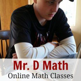 Mr. D Math: Online Math Classes for Homeschool