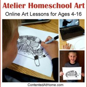 Atelier Homeschool Art: Online Art Lessons