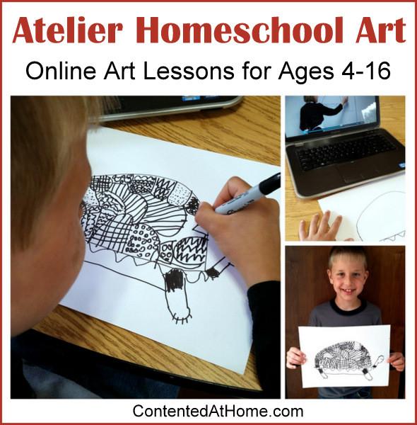 Atelier Homeschool Art: Online Art Lessons for Ages 4-16