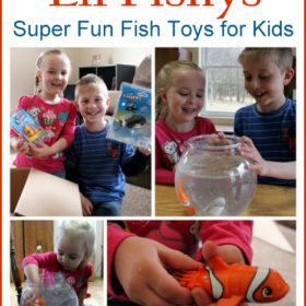 Lil' Fishys: Super Fun Fish Toys for Kids