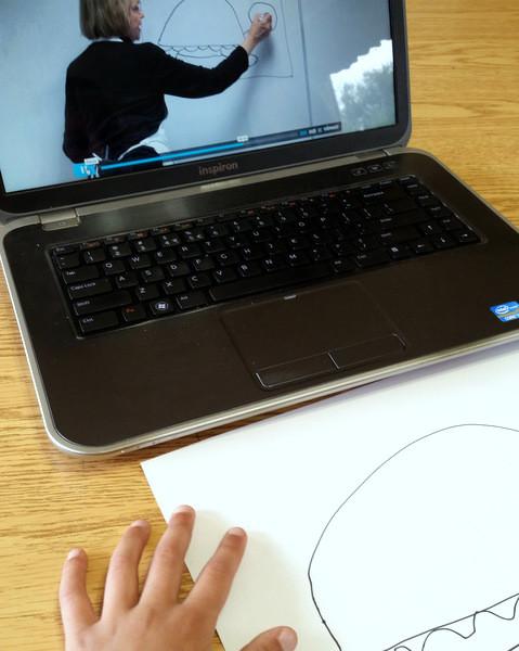 Online art lessons from Atelier Homeschool Art