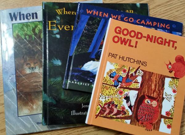 4 hardback kindergarten books