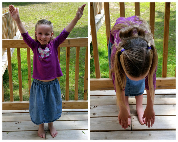 Kindergarten Stepping Stones phys ed activity