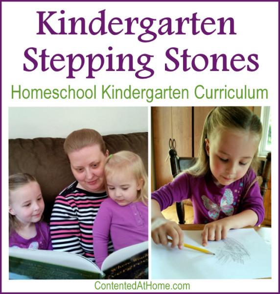 Kindergarten Stepping Stones is a theme-based homeschool kindergarten curriculum.