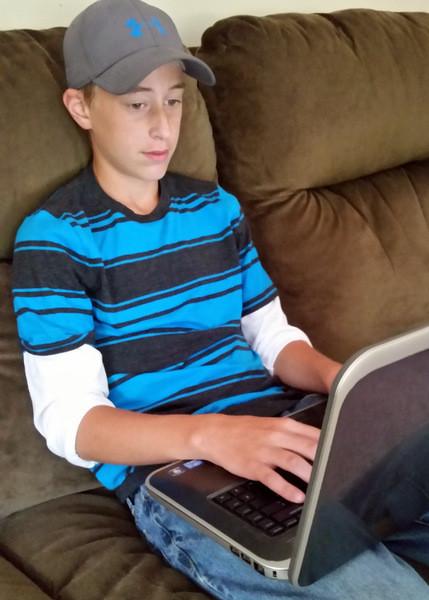 Online math curriculum for grades 1-12