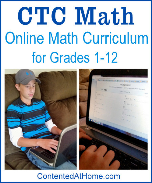 CTC Math: Online Math Curriculum for Grades 1-12