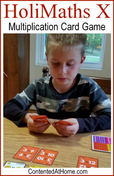 HoliMaths X: Multiplication Card Game