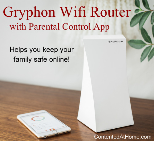 Gryphon Wifi Router with Parental Control App