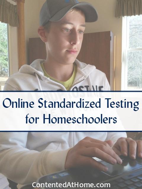 Online Standardized Testing for Homeschoolers