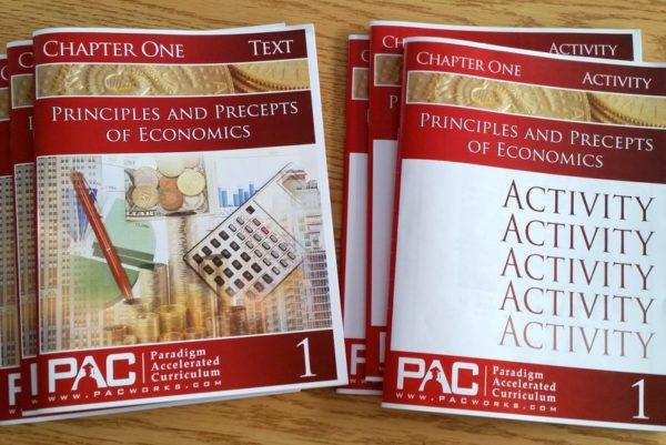 Homeschool economics curriculum