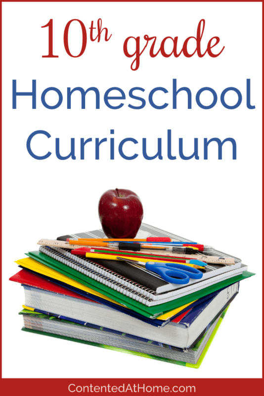 10th Grade Homeschool Curriculum
