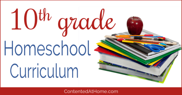 Homeschool curriculum for 10th grade