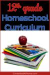 12th Grade Homeschool Curriculum Choices