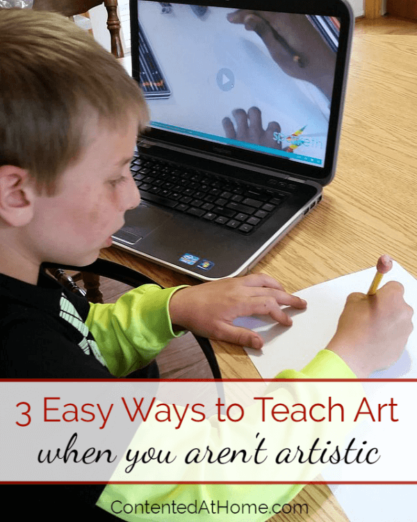3 EASY Ways to Teach Art When You Aren't Artistic