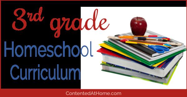 Homeschool curriculum for 3rd grade
