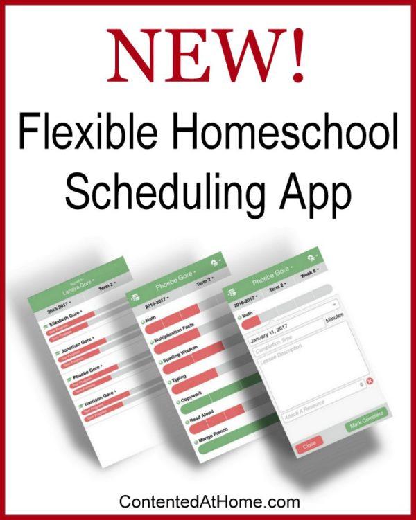 Flexible Homeschool Scheduling App