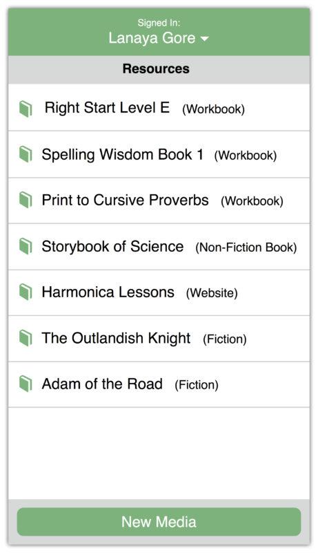 Flexible School Schedule app