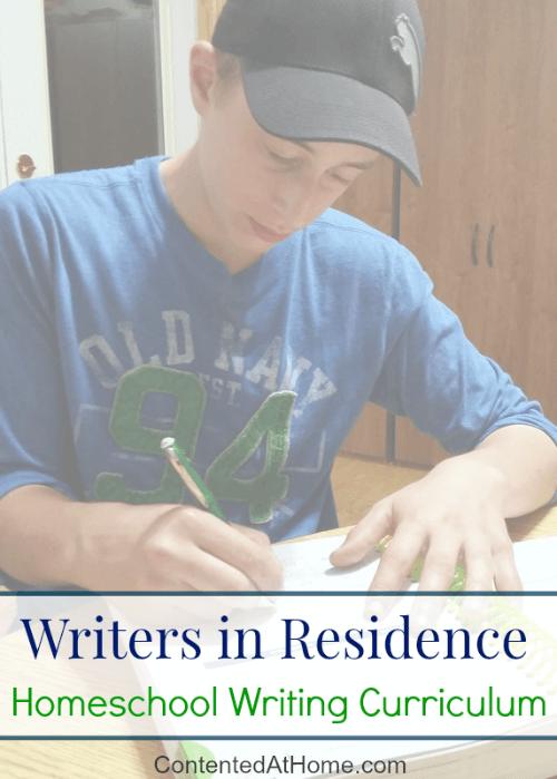 Writers in Residence: Homeschool Writing Curriculum