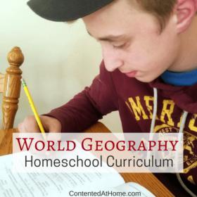 World Geography Homeschool Curriculum