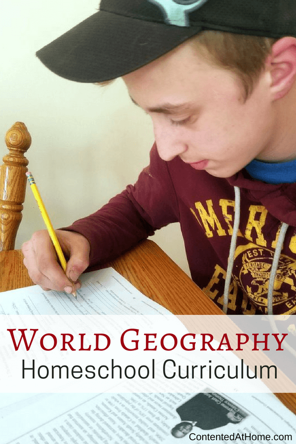 World geography homeschool curriculum