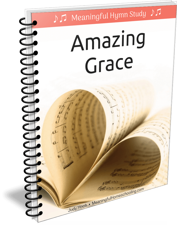 "Spiral bound book with music pages on cover and title ""Amazing Grace"""