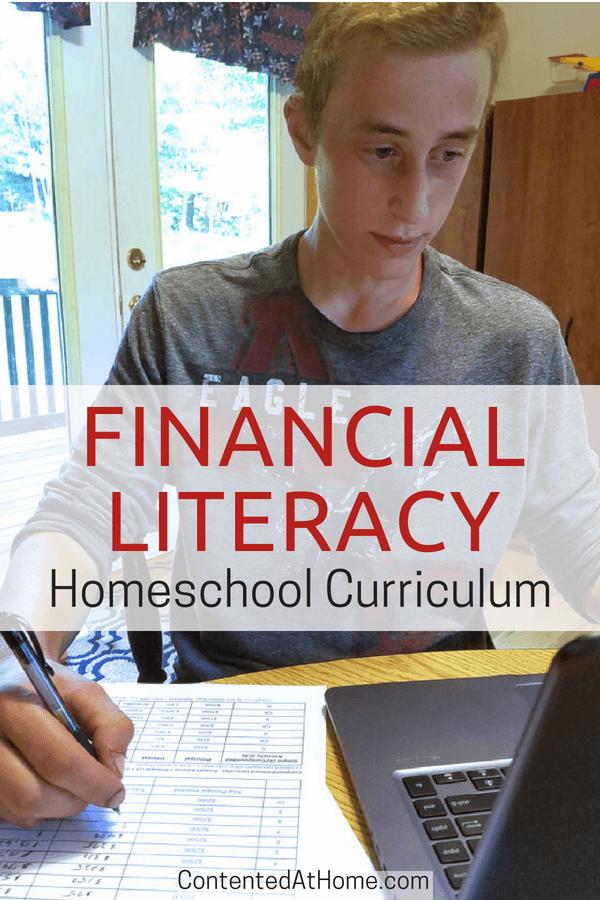 Financial Literacy homeschool curriculum