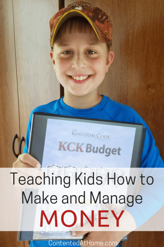 Teaching Kids How to Make and Manage Money
