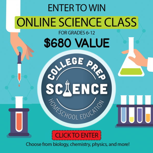 Online science class giveaway