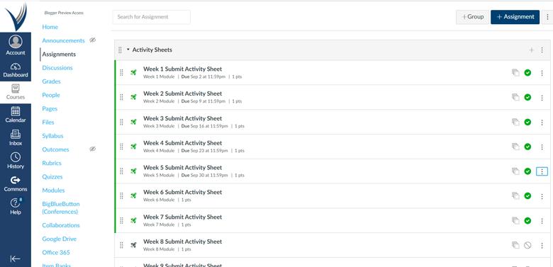 Screenshot of BookShark Virtual